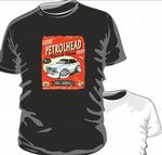 KOOLART PETROLHEAD SPEED SHOP MK2 FORD ESCORT MEXICO mens or ladyfit t-shirt